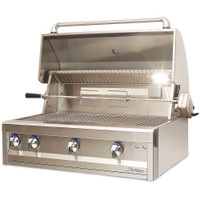 Artisan American Eagle 3 Burner Grill with Rotisserie & Light by Alfresco