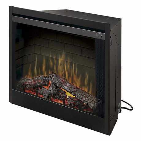 """Dimplex 39"""" Deluxe Built-in Electric Firebox Electric Fireplace"""