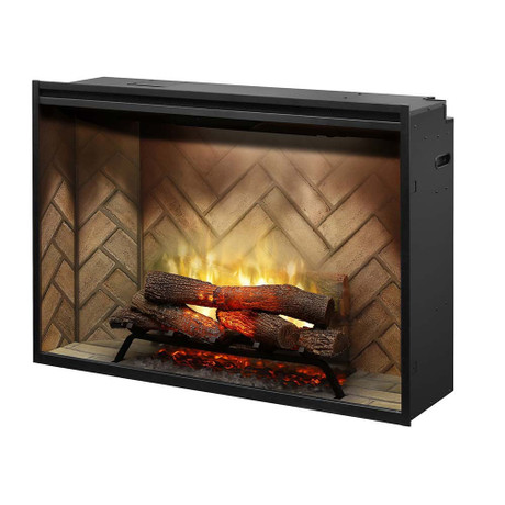 "Dimplex Revillusion™ 42"" Built-in Firebox Electric Fireplace"