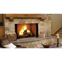 Majestic Biltmore Radiant Wood Burning Fireplace - 42 Inch