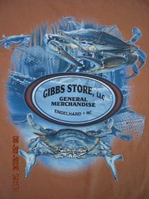Gibbs Store Orange Crab Long-Sleeve T-Shirt