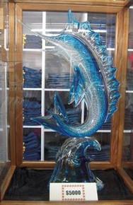 Mila Brown Aqua Marlin with Platinum