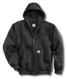 Carhartt Black Hooded Sweatshirt