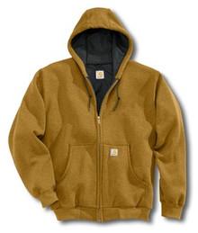 Carhartt Brown Hooded Sweatshirt
