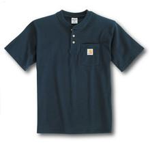 Carhartt Boys Navy Henley Shirt