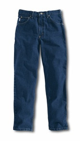 Carhartt Darkstone Relaxed-Fit Tapered Leg Jeans
