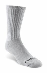 Carhartt Gray Cotton Blend Work Sock