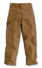 Carhartt Brown Youth Duck Dungaree