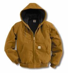Carhartt Brown Duck Active Jacket -- Regular