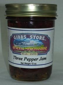 Three Pepper Jam