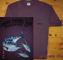 Gibbs Store Plum Fish Short Sleeve T-Shirt