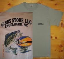Gibbs Store White Fisherman Short Sleeve T-Shirt