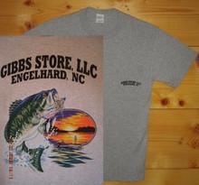 Gibbs Store Light Gray Fisherman Short Sleeve T-Shirt