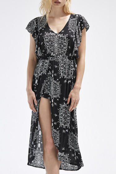 Aria Dress, Black Sanchee