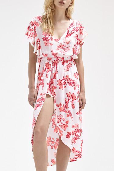 Aria Dress, Cherry Primrose