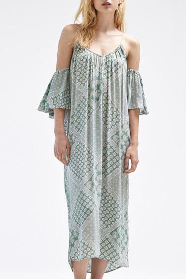 Denka Dress, Sage Latika