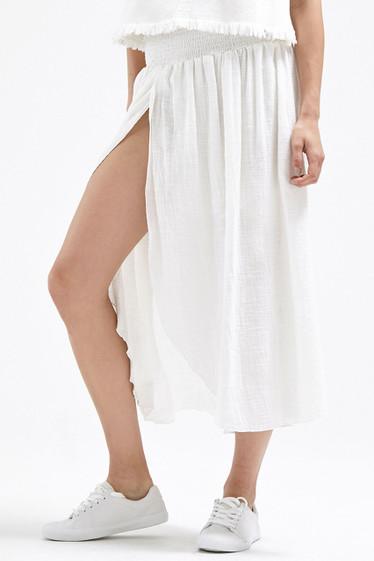 Zinnia Maxi Skirt, Ivory