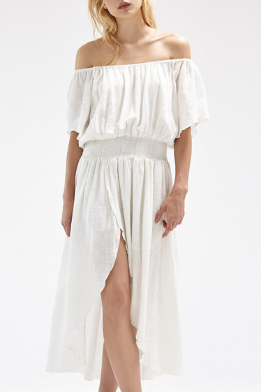 Lucca Maxi Dress, Ivory