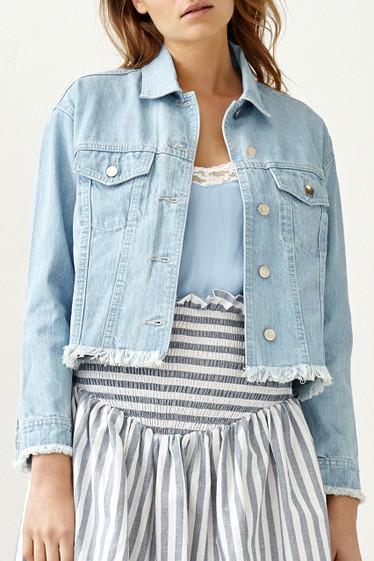 Dharma Jacket, Blue Denim