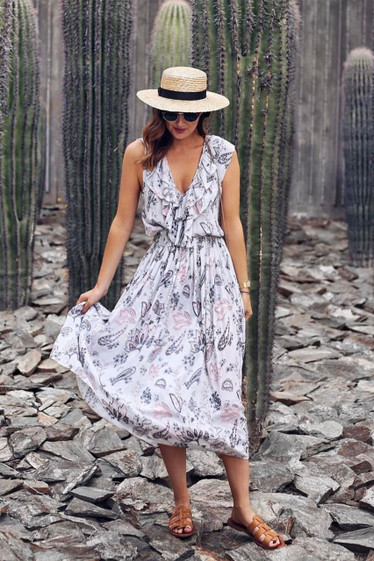 Maude Dress, Jardin