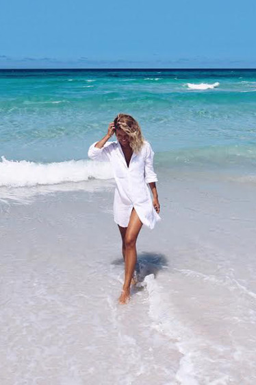 Rosetta Dress, White