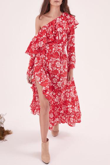 Wildflower L/S Shoulder Dress