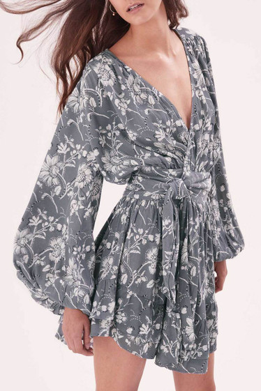 Wildflower Wrap Dress - *SOLD OUT
