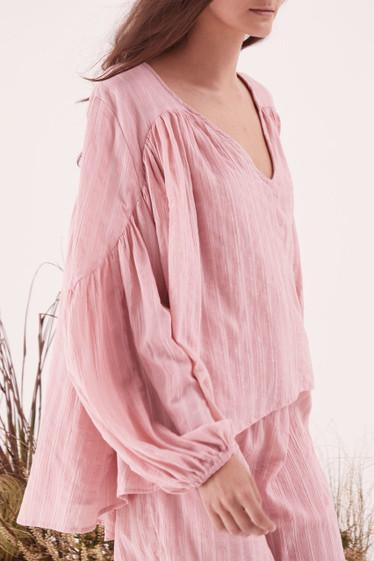 Moonlight Shirt, Rose Pink
