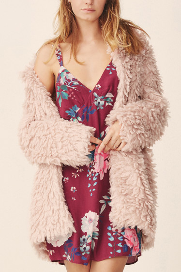 Maddox Coat, Blush