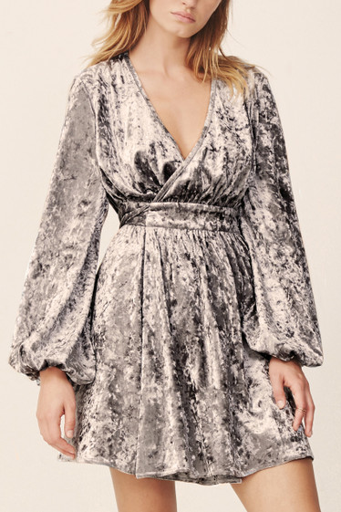 Shadow Wrap Dress