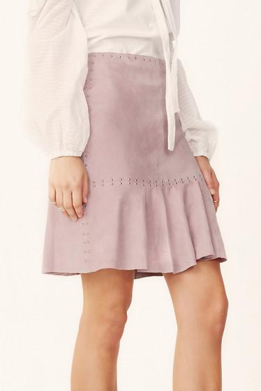 Nikita Studded Suede Skirt
