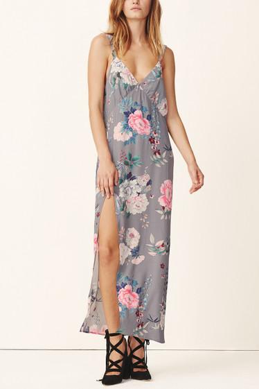 Peony Slip Midi Dress