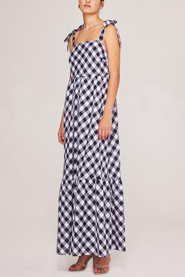Brigitte Maxi Dress, Navy