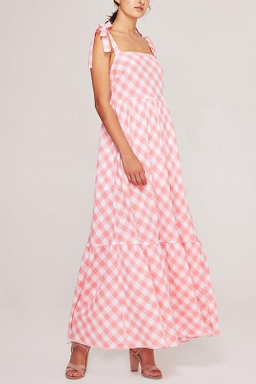 Brigitte Maxi Dress, Rose