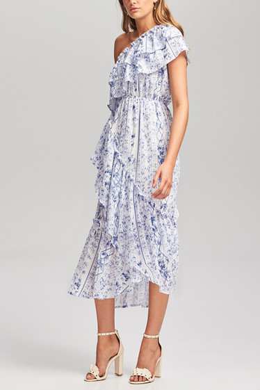 Riviera Ruffle Dress