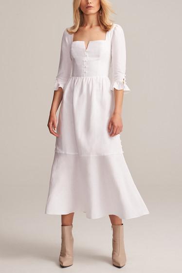 Isobel Corset Midi Dress
