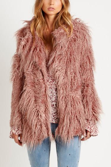 Woodland Coat, Rose