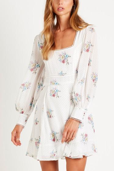 Bellflower Empire Dress