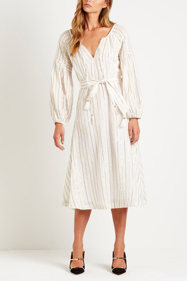 Markle Smock Midi Dress