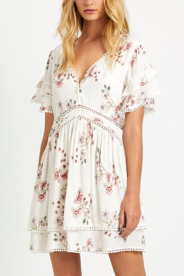 Dreamfields Dress, Blanc