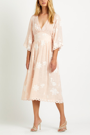 Lacey Maxi Dress, Cotton Candy