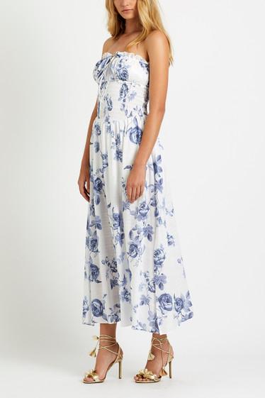 PRE ORDER / Sofia Maxi Dress, Sky Rosetta