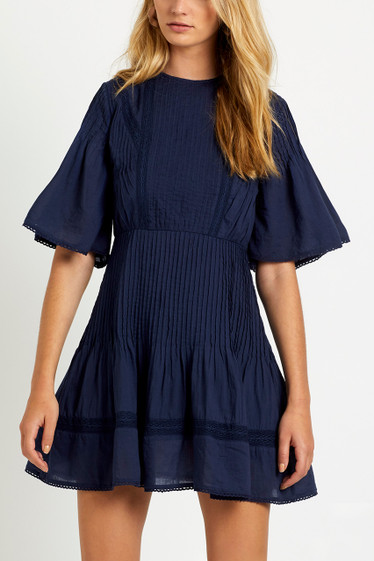 Jasmyn Pleat Dress