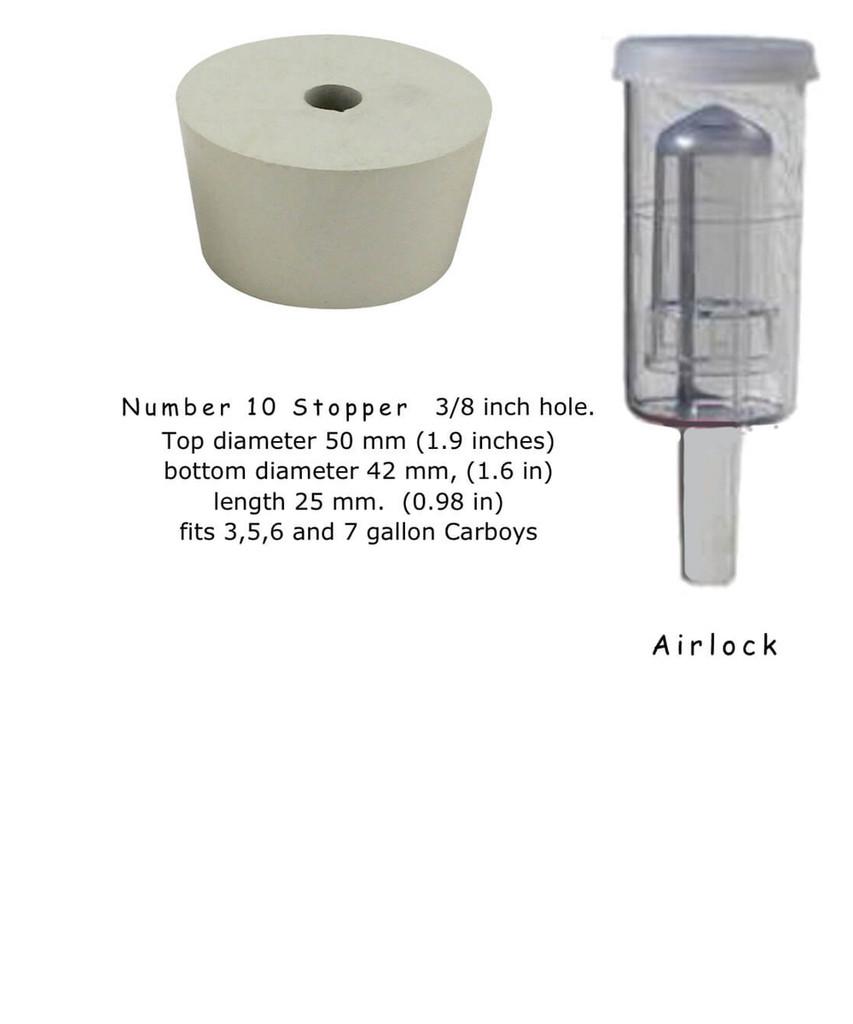 Bubbler style Airlock