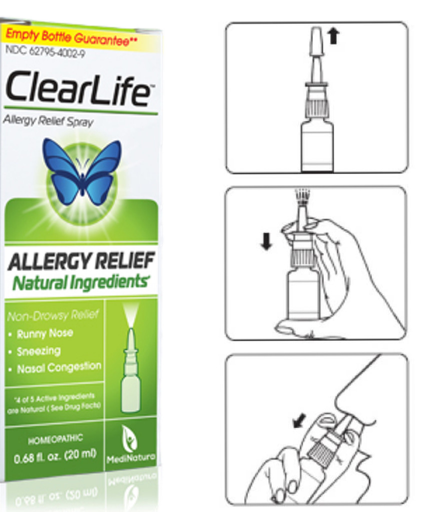 ClearLife Nasal Spray Homeopathic Remedy