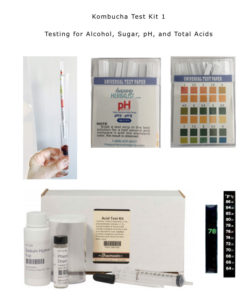 Hydrometer is included in our Kombucha Test Kits 1.