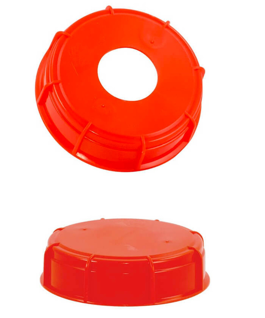 2 types of screw-on caps
