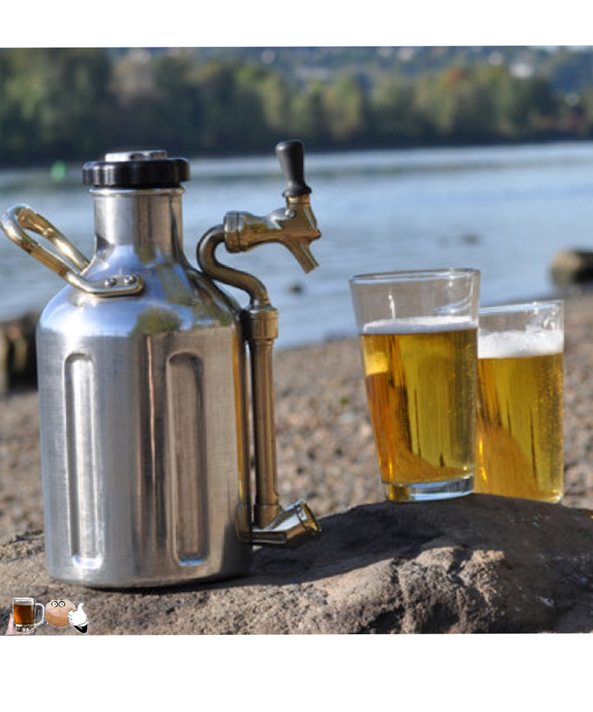 uKeg 128 Growler Mini Keg