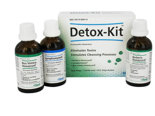 Homeopathic BodyAnew Detox Kit Environmental, and Antibiotic, Corticosteroid, Amalgam and childhood vaccines and human induced Toxins