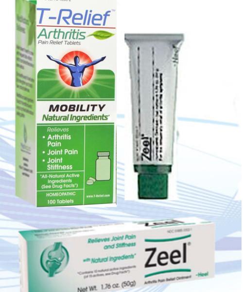 ZEEL  new name T-Relief Mobility Degenerative Arthritis, osteoarthritis, Fibromyalgia,